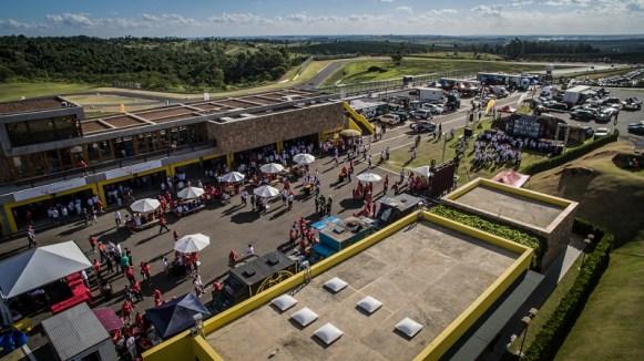 Autódromo Velo Città recebeu três ralis realizados simultaneamente. Foto: Vinicius Martins/Mitsubishi