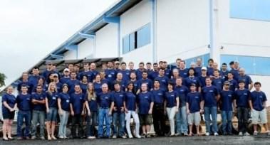 A lavanderia e tinturaria Lave Bem apoia o Transcatarina há oito anos (Divulgação )