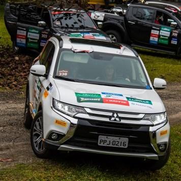 Veículos 4x4 da Mitsubishi podem participar das provas. Foto: Cadu Rolim / Mitsubishi