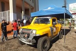 A largada aconteceu na Praça da Igreja Matriz de Cambira (PR) (Foto: Divulgação)