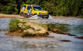 Beto Carrero World recebe o Suzuki Off-Road pela primeira vez. Foto: Tom Papp / Suzuki