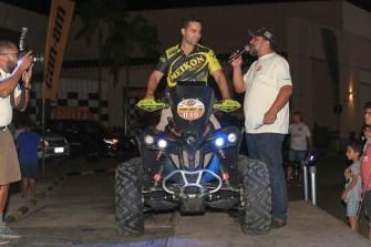 Geison Belmont foi o representante dos quadriciclos (Luciano Santos/DFotos)