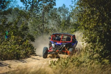 O Can-Am Maverick X3 X RS #117 percorreu mais de mil km no Tocantins (Lucas Carvalho/Photo Action)