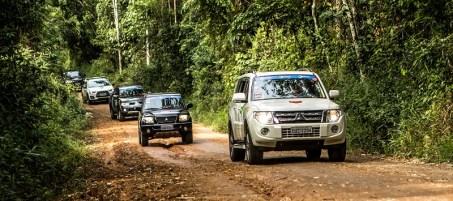 Podem participar os veículos 4x4 das linhas Pajero, L200, ASX e Outlander. Foto: Ricardo Leizer/Mitsubishi