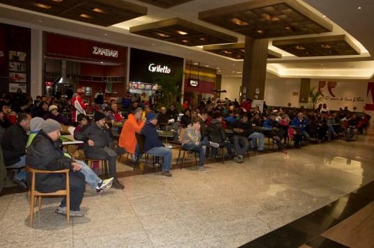 O briefing nesta sexta-feira será às 18h30 no Lages Garden Shopping (Luciano Santos/DFotos)