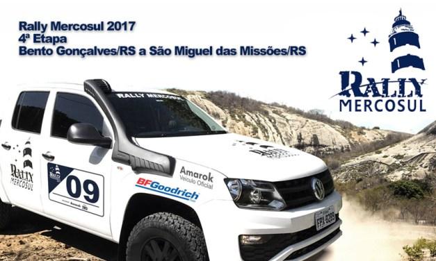 RALLY MERCOSUL 2017 – 4ª Etapa – Bento Gonçalves/RS a São Miguel das Missões/RS