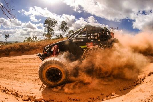 Gustavo Lapertosa a bordo do UTV Can-Am Maverick X3 no Mineiro de Rally de Velocidade Crédito: Sanderson Pereira