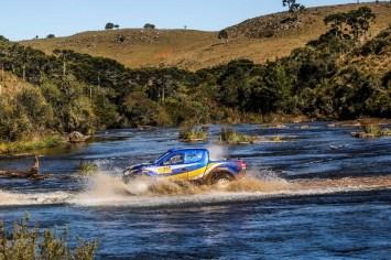 A disputa contou pontos para p Campeonato Brasileiro de Rally Cross Country (Sanderson Pereira/Photography)