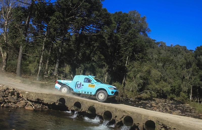 FD Rally Team mantém a liderança no Brasileiro na categoria, em Lages (Luciano Santos/DFotos)