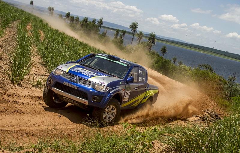 Os carros terão pontos válidos para o Paulista de Rally Cross Country (Luciano Santos/SigCom)