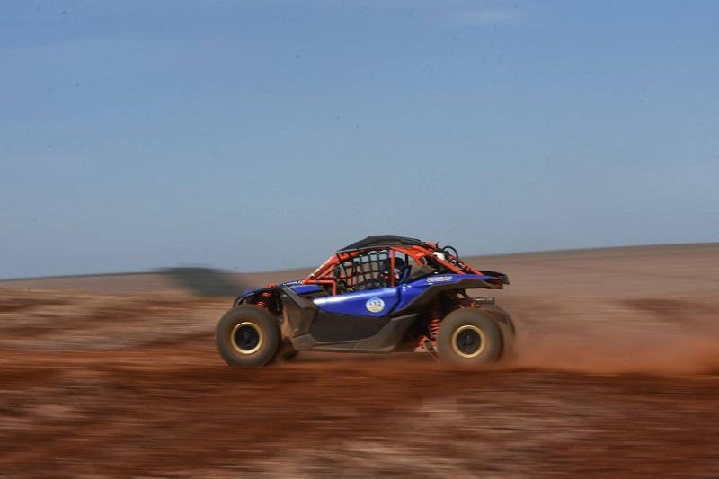 Piloto compete pelaUTV Pró no Brasileiro de Rally Baja (Fernando JS)
