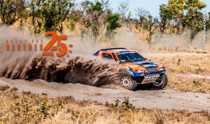 Rally dos Sertões 2017: Rafael Cassol e Lélio Júnior enfrentaram a primeira parte da etapa maratona