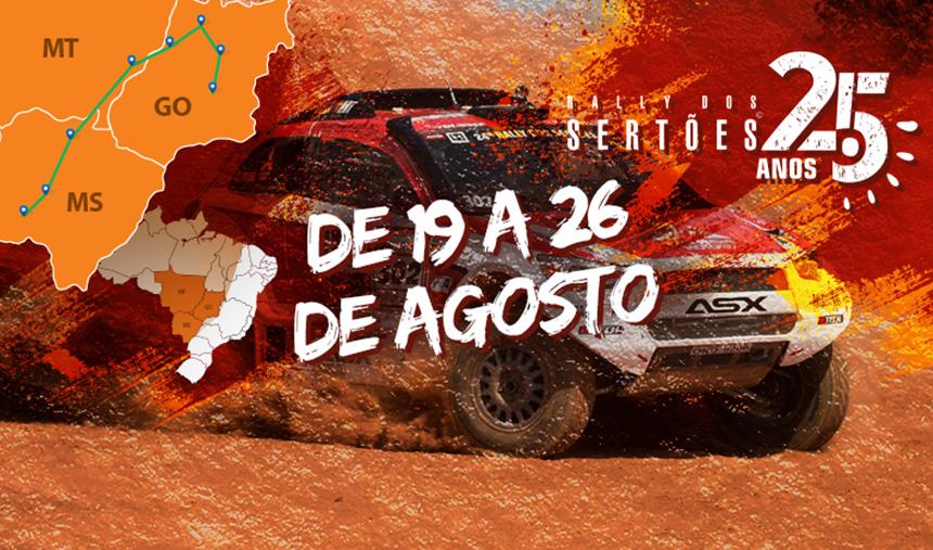 Roteiro Rally dos Sertões 2017 – 25 anos