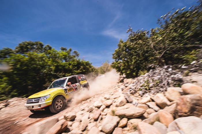 Zenz Rally Team na estreia da equipe no Sertões 2016 (Victor Eleutério/Fotop)