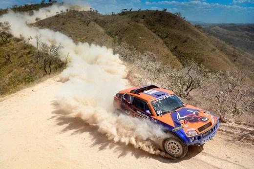 Dupla da Bull Sertões Rally Team na edição do ano passado (Doni Castilho/DFotos)