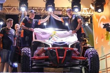 Território Motorsport na Largada Promocional, no Autódromo de Goiânia (Marcelo Machado/Fotop)