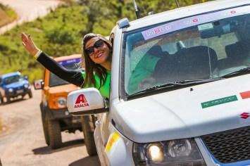 Muita diversão a bordo dos veículos Suzuki. Foto: Cadu Rolim/Fotovelocidade