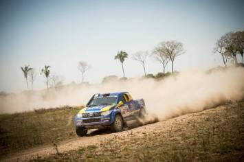 Nesta quarta o Rally dos Sertões chegou ao Mato Grosso (Marcelo Maragni/Fotop)