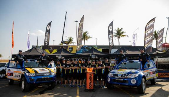 Equipe Top Rally Team tem sede em Petrópolis (RJ) (Marcelo Machado/Fotop)