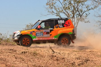 Com 194 quilômetros de especial, a sexta etapa foi bastante dura (Michael Oliveira/Tulipa Rally)