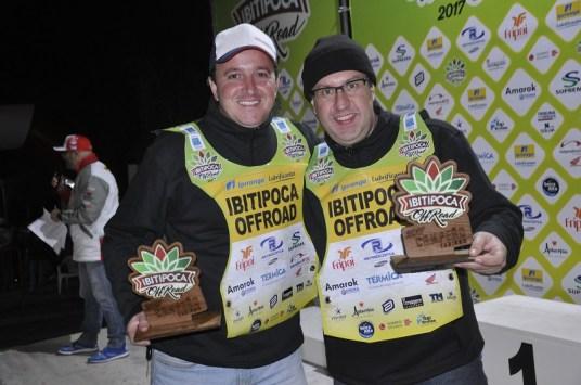 Guga e Marcelo - Campeões Turismo Carros. Foto: Savastano