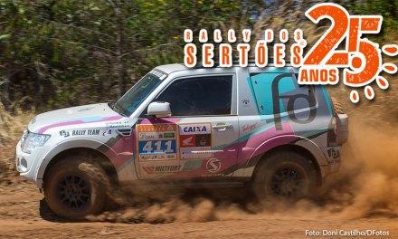 Duplas do FD Rally Team vencem a terceira etapa consecutiva do Rally dos Sertões