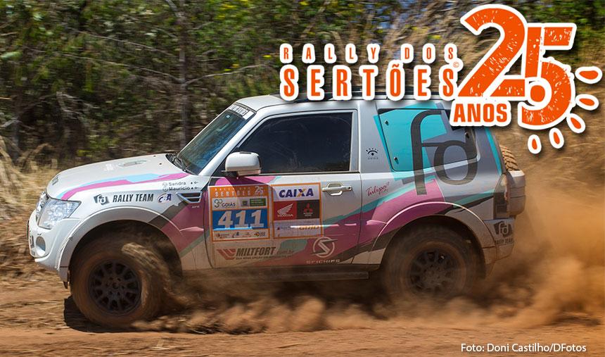 Após quarto dias de Rally dos Sertões, duplas da FD Rally Team consolidam liderança