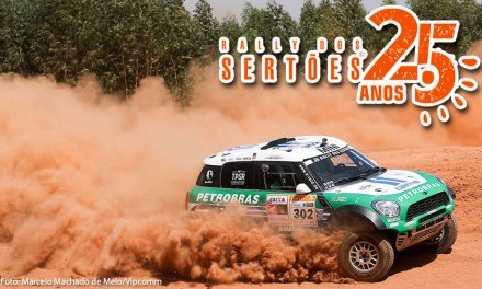 Guiga Spinelli e Jean Azevedo, maiores campeões do Rally dos Sertões, vencem a terceira etapa