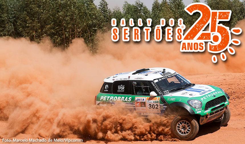 Petrobras Rally Team crava o melhor tempo no prólogo e larga na frente no Rally dos Sertões