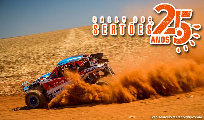 Rally dos Sertões – Diferença de 39 segundos separa os ponteiros dos UTVs