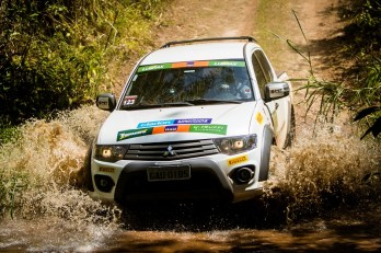 Veículos da Mitsubishi foram colocados a prova. Foto: Adriano Carrapato / Mitsubishi