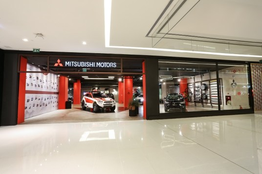 Mit Point no Shopping JK Iguatemi. Foto: Pedro Dantas / Mitsubishi