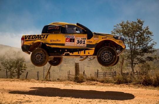 Cristian Baumgart e Beco Andreotti, bicampeões do Rally dos Sertões nos Carros (Marcelo Machado de Melo/Fotop/Vipcomm)