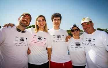 Famílias e amigos se reúnem para participar da prova. Foto: Adriano Carrapato / Mitsubishi