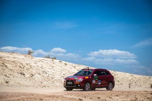 Próxima etapa será em Campos do Jordão (SP), no dia 21 de outubro. Foto: Tom Papp / Mitsubishi