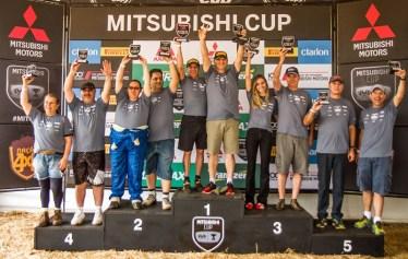 No sábado, haverá premiação da 3ª etapa e no domingo, da 6ª. Foto: Adriano Carrapato/Mitsubishi