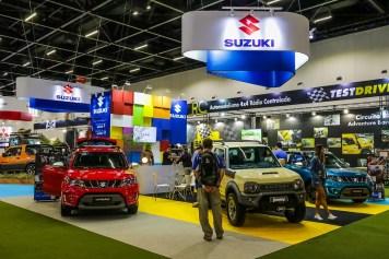 Premiação foi no estande da Suzuki. Foto: Cadu Rolim / Suzuki