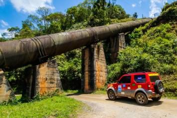 Trilhas e estradas agradaram os competidores. Foto: Cadu Rolim / Suzuki