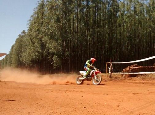 Marco Antônio Pereira, o melhor nas motos (divulgação)