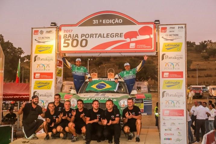 Petrobras Rally Team. Foto: Sanderson Pereira