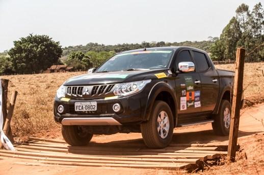 Carros 4x4 da Mitsubishi são colocados à prova. Foto: Ricardo Leizer / Mitsubishi
