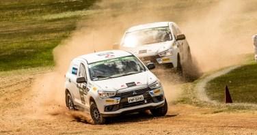 Rallycross é uma das atrações. Foto: Ricardo Leizer / Mitsubishi