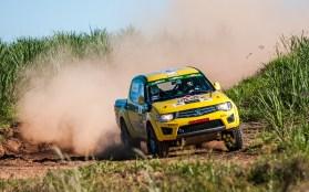Percurso teve trechos de altas velocidades. Foto: Marcio Machado / Mitsubishi