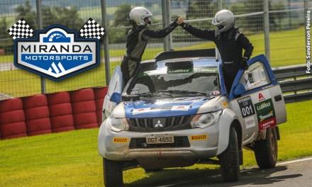 Equipe de rally patrocinada pela BASF comemora tricampeonato na Mitsubishi Cup
