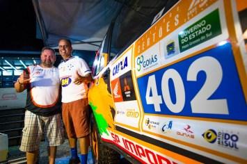 Renato Martins e Enedir da Silva Jr se preparam para mais um rali nacional (Ricardo Leizer/Fotop)