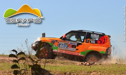 Rally Cerapió: Renato Martins e Enedir Jr conquistaram a terceira posição