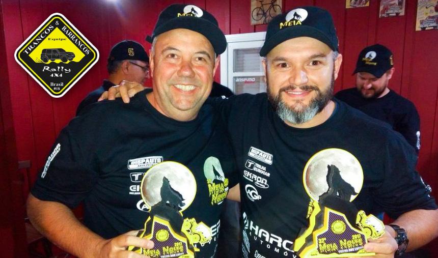 Dupla da Trancos & Barrancos conquista segundo lugar no 32º Rally da Meia-Noite