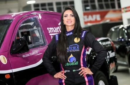 Helena Soares é piloto de provas off-road como o Rally dos Sertões (Luciano Santos/SigCom)