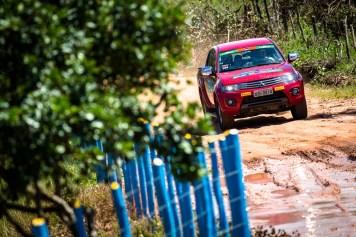 Muita diversão no Mitsubishi Motorsports. Foto: Tom Papp. / Mitsubishi