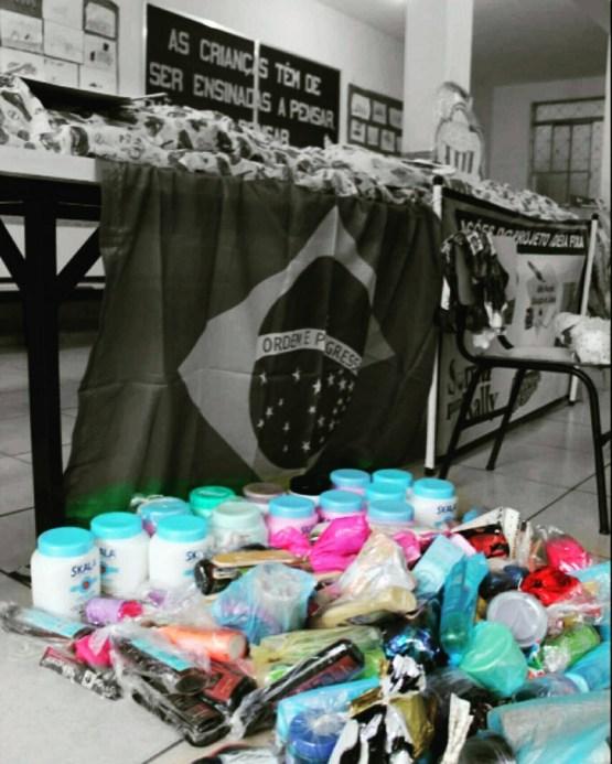 Doações da ação Ideia Bela (Lucas Carvalho/PhotoAction)